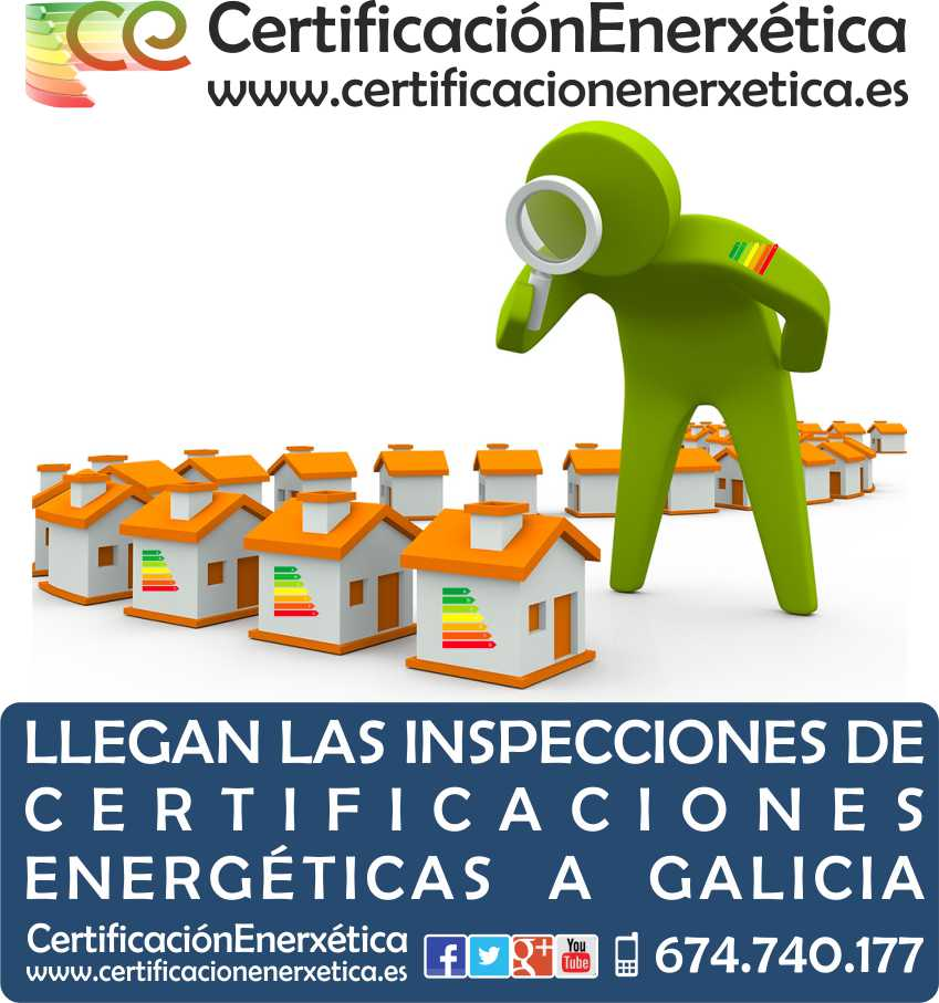 INSPECCIONES CERTIFICACION ENERGETICA GALICIA