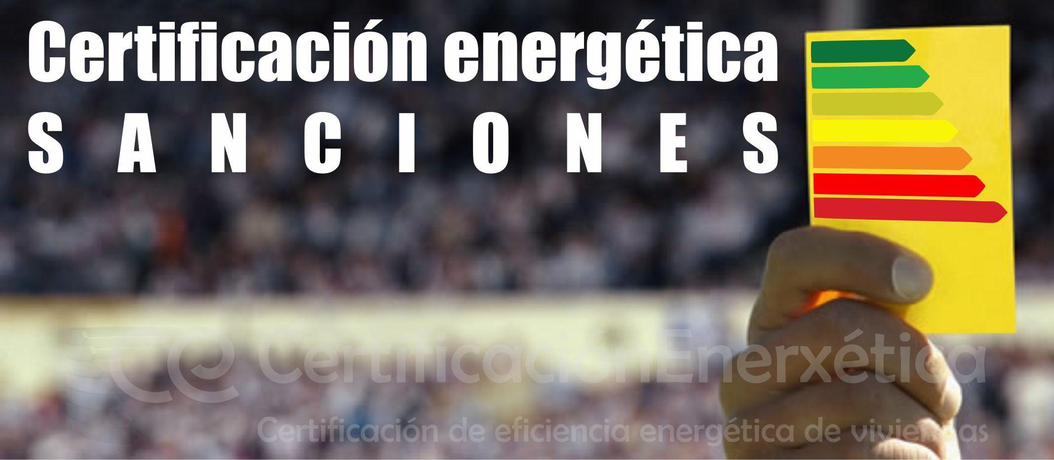 SANCIONES_Certificacion energetica