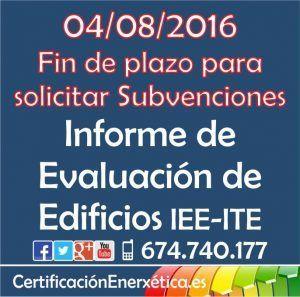Subvenciones IEE_2016